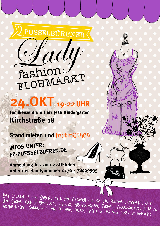 Eindrücke vom 2. Lady Fashion Flohmarkt